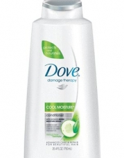 Dove Damage Therapy Cool Moisture Conditioner, 25.4 Ounce  (Pack of 2)