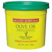 Organic Root Stimulator Olive Oil Relaxer, Normal Strength 4lb tub
