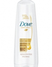 Dove Nutritive Therapy, Nourishing Oil Care Conditioner, 12 Ounce (Pack of 2)