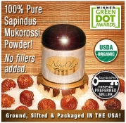 NaturOli Soap Nuts / Soap Berry Powder - USDA Certified Organic. 100% Green and Natural Detergent and Cleanser - Pure, Finely Ground and Sifted Sapindus Mukorossi Soap Nuts. No Chemicals or Fillers! Made in USA. New BULK sizes now available!
