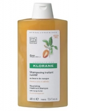 Klorane Mango Butter Nourishing Treatment Shampoo For Dry/Damaged Hair - 13.4 oz.