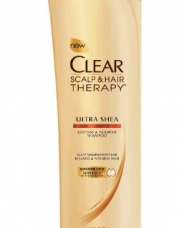CLEAR SCALP & HAIR BEAUTY Ultra Shea Cleanse & Nourish Shampoo, 12.9 Fluid Ounce