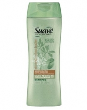 Suave Professionals Shampoo, Almond & Shea Butter for Dry, Damaged Hair, 12.6 Ounce Bottles (Pack of 6)
