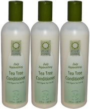 Desert Essence Daily Replenishing Tea Tree Conditioner, 12.9 -Ounces (Pack of 3)