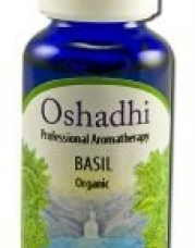 Oshadhi Essential Oil Singles - Basil, Organic 30 mL by Oshadhi
