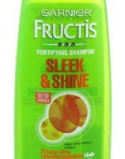 Fructis Sleek and Shine fortifying Shampoo By Garnier for Unisex Shampoo, 13 Ounce
