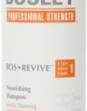 Bosley Bos Revive Nourishing Shampoo for Visibly Thinning Color-Treated Hair, 10.1 Ounce