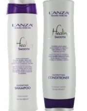 L'ANZA Healing Smooth Glossifying Shampoo for Unisex, 10.1 Ounce & Conditioner for Unisex, 8.5 Ounce DUO!!!