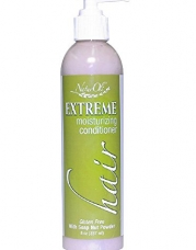 NaturOli Extreme Hair Moisturizing Conditioner with USDA Certified Organic Soap Berry Powder! Gluten Free.