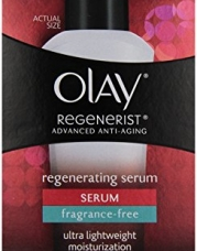 Olay Regenerist Advanced Anti-Aging Regenerating Serum Moisturizer Fragrance-Free 1.7oz