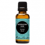 Respiratory Ease Synergy Blend Essential Oil by Edens Garden (Cardamom, Hyssop, Juniper Berry and Rosemary)- 30 ml